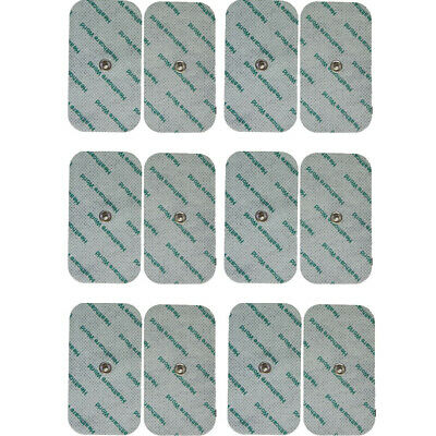 12 TENS ELECTRODE STUD LARGE TENS PADS FOR BEURER, SANITAS TENS MACHINES 3.5mm