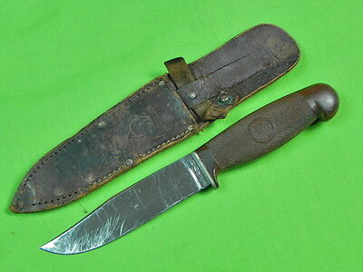 Vintage US Early CASE Tested XX Hunting Fighting Knife & Sheath