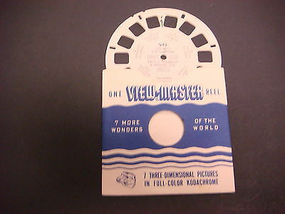 Sawyer's Viewmaster Reel,1951,Life w/The Cowboys Cattle Roundup &  Branding 942