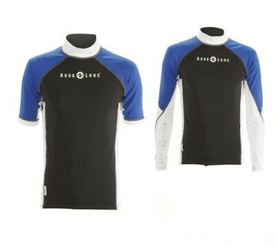 Aqualung Blue Ocean RASH GUARD Sleeve Athletic Fit  RASHGUARD Lang oder Kurzarm