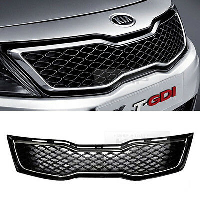 OEM Genuine Parts Hood Radiator Mesh Grille Trim For KIA 2011-13 Optima K5 Trubo