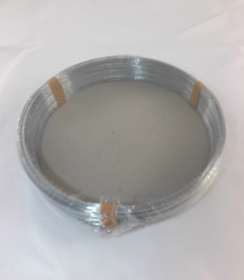 2 x GALVANISED LINE WIRE 65 METRE X 1.00mm IDEAL FOR GARDENING HOBBY USE VAT INC
