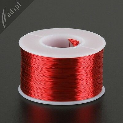 29 AWG Gauge Magnet Wire Red 1250' 155C Solderable Enameled Copper Coil WindingS