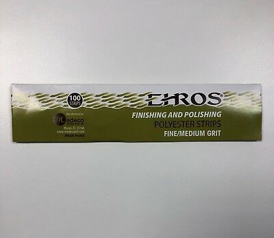Dental Polishing and Finishing Polyester Strips Pack /100 Pcs EHROS