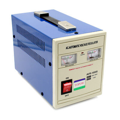 1000 Watt Step Down 220 to 110 Power Voltage Converter Transformer Stabilizer