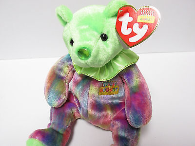 "Ty Beanie Baby ""August"" Birthday Beanie Collection w/Ruffles -  New w/Mint Tags"
