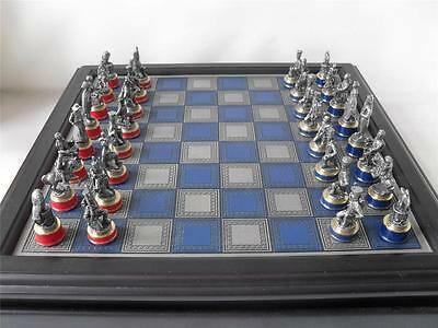 Franklin Mint British Museum Battle of Waterloo spare chess pieces
