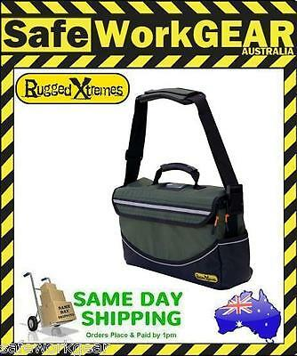 Rugged Xtremes Deluxe MEDIUM Canvas Tool Bag Crib Equipment Storage 4 Extremes