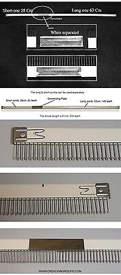 New Cast-on Comb Set for Brother KH860 KH868 890 940 KH965 KH970 & Studio 4.5mm