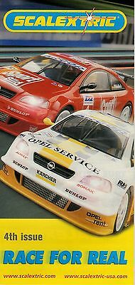 "Scalextric ""Race For Real"" Leaflet - Issue 04"