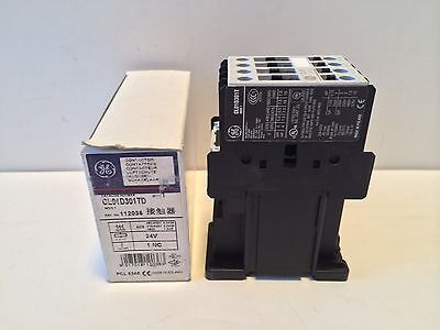 New! Ge / General Electric Contactor Cl01D301Td Cl01D301T Coil 24 Vdc