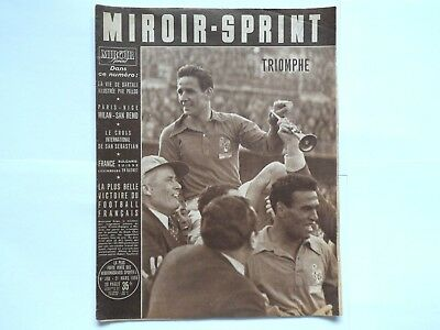 *Rare Vintage 1950s 'MIROIR-SPRINT' - French Cycling Magazine - 21 March 1955*