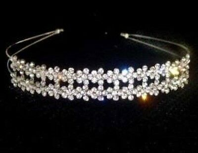Beautiful Rhinestone Crystal  Tiara/Headband- Brand New P46