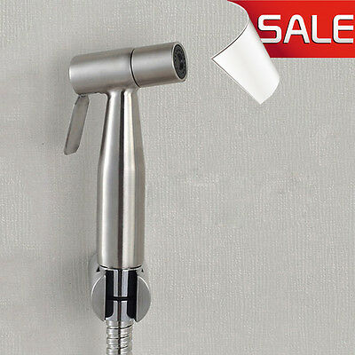 Stainless Steel Hand Held Diaper Shower Head  Bidet Spray Shattaf  Douche Kit