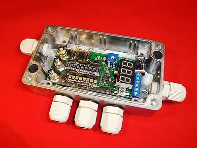 55A Constant current HHO PWM CCPWM digital Amp meter 12V 24V Waterproof