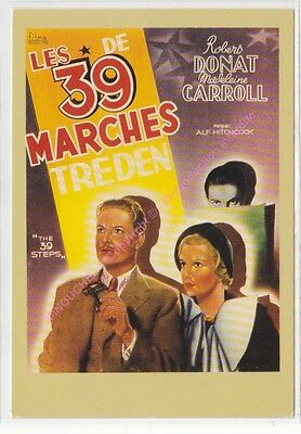 CPM CINEMA AFFICHE LES 39 MARCHES Edit ZREIK
