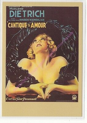 CPM CINEMA AFFICHE CANTIQUE D'AMOUR Edit ZREIK