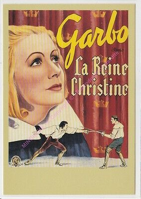 CPM CINEMA AFFICHE LA REINE CHRISTINE Edit ZREIK
