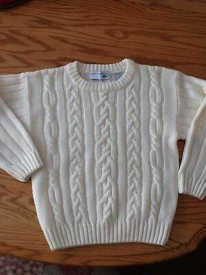 Lord and Taylor Kids size XL(7x) cream colored Sweater