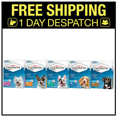 Comfortis For Dogs 6 Tablets - All Sizes