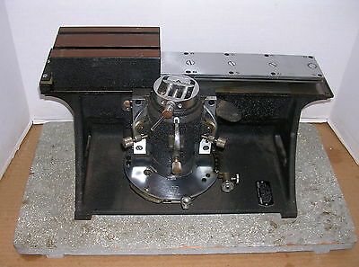 American Optical 860 Sliding Block Microtome, AO Spencer, with 2 Knife Holders