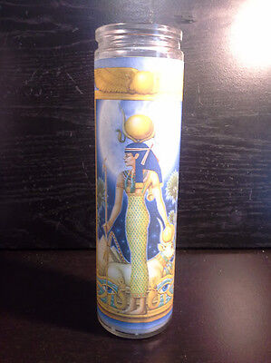 )O()O(  7 Day Spell Candle Egyptian Hathor Blessings Magick Wiccan )O()O(