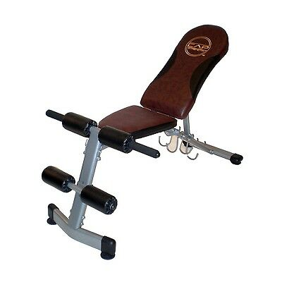 Weight Bench Cap Barbell Fitness FID Adjustable Home Gym Equipment Ab Bench NEW