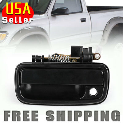 Front Left Driver Side Outside Door Handle for 95-04 Toyota Tacoma Black