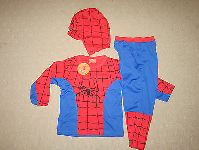 COSPLAY SPIDERMAN CLASSIC Kids Costumes Sizes 2-10 BRAND NEW - Dressup parties,,