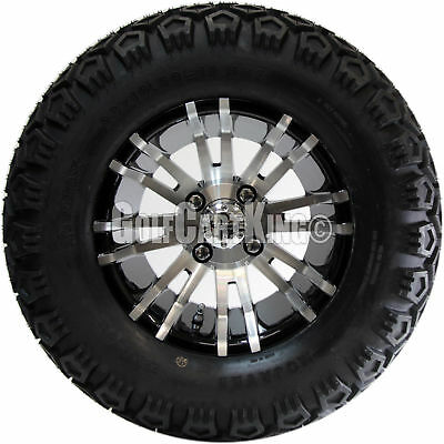 """12"""" RX270 Wheel and 23"""" Mojave Tire + Club Car DS 1984-2003 Golf Cart Lift Kit"""