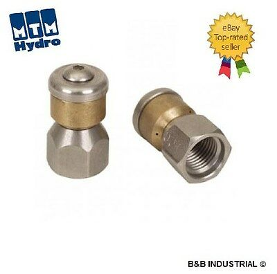 """1/8"""" Rotating Sewer Cleaning Jetter Nozzle #4.5 FREE SHIPPING BEST PRICE ON EBAY"""