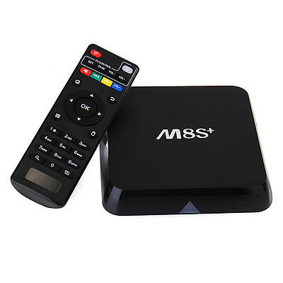 M8S+ Android TV Box WiFi Octa Core, Android 5.1, M8 S Plus KODI Loaded