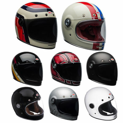 **SHIPS SAME DAY** Bell Bullitt Retro Motorcycle Helmet ALL COLORS Full Face