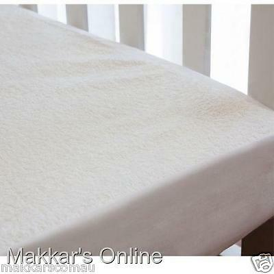 Bubba Blue BAMBOO Fitted Waterproof Mattress Protector - Cradle