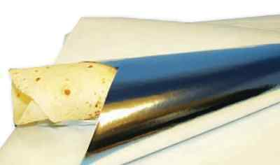 FOIL BACKED SHEET / GREASE PROOF PAPER SHEETS, Food, Wraps kebabs Baking