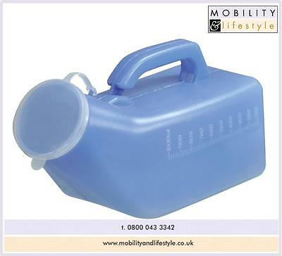 Male portable urinal - Free p&p - private listing so you can buy in confidence