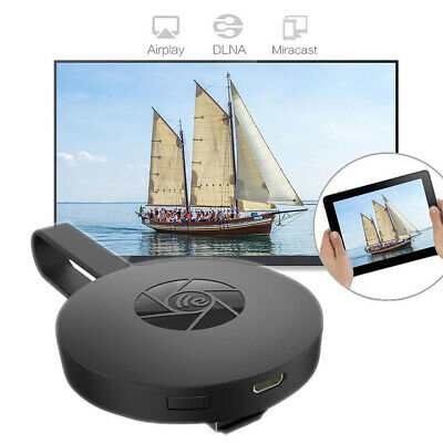 Chromecast Mirascreen Tv Video Hdmi Streaming Wireless Smart View G2 Wifi 1080P