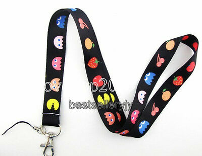Lot 10 Pcs Lovely fruit Neck mobile Phone lanyard Keychain straps charms Gifts