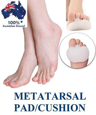 Quality Silicone Gel Metatarsal Insole Cushion Pads Forefoot Dome Ball Of Foot