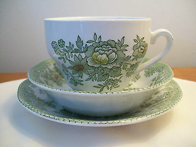 Vintage Enoch Wedgewood Tunstall ltd Cup Saucer and Bowl  KENT