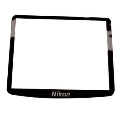 New LCD Outer Screen Display Window Glass Replacement For Nikon D90 Repair part