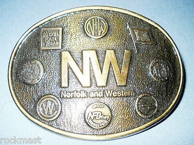 5789_Norfolk And Western Railway Belt Buckle