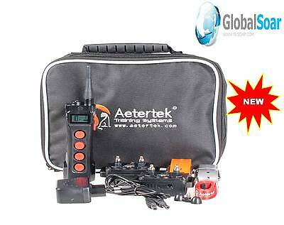 Aetertek AT-919C-2 1100 Yard 10 Level 2 Dog Training Anti Bark&Waterproof Collar