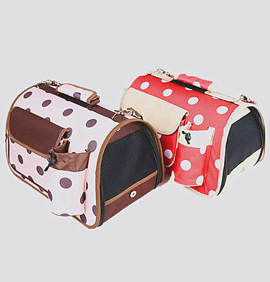 Collapsible Polkadots Pet Carriers (Large)