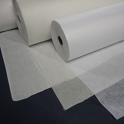 Interfacing Fabric - Various weights, Sew on and Iron On (Per Metre)