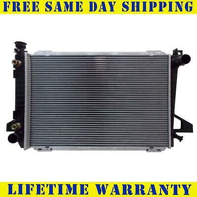 Radiator For Ford Fits Bronco F-150 F-250 F-350 5.0 5.8 V8 8Cyl 1453