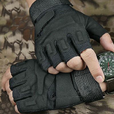Mens Military Tactical Gloves Outdoor Work Gloves Bicycle Gloves Gym Gloves