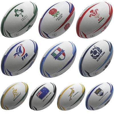 Official Supporters Rugby Balls All 6 Nations and 4 Rugby Championship Teams