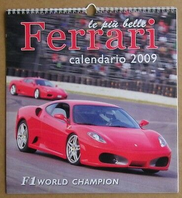 Ferrari Le Piu' Belle -  Calendario 2009 - International Calendar Sc6