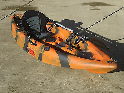 Sit On Top Fishing Kayak Canoe Galaxy Cruz New Model With Free Trolley